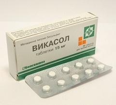 таблетки Вікасол
