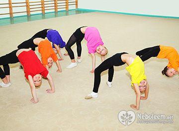 Особливості гімнастики для дітей 7 років