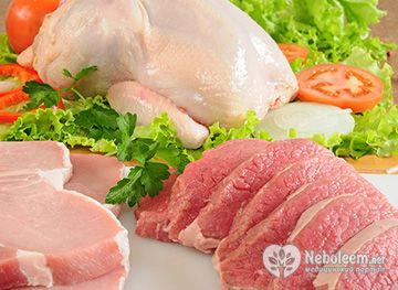Дієтичні страви з м'яса - рецептура і технологія приготування
