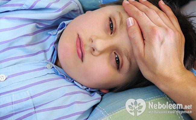 Симптоми краснухи у дітей