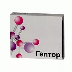 Таблетки, вкриті кишковорозчинною оболонкою, Гептор