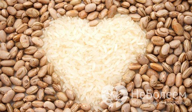 Продукти з тривалим терміном зберігання: насіння бобових