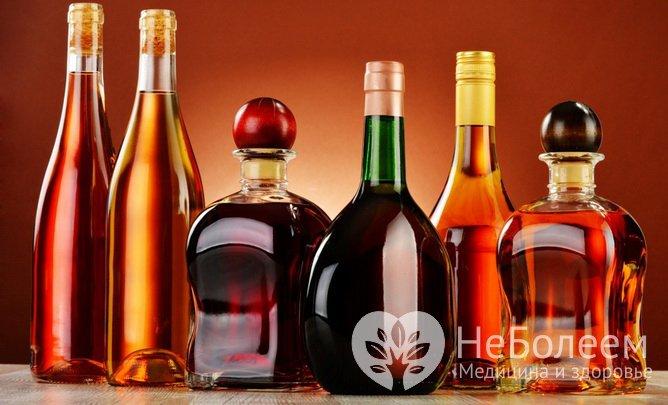 Продукти з тривалим терміном зберігання: спиртні напої