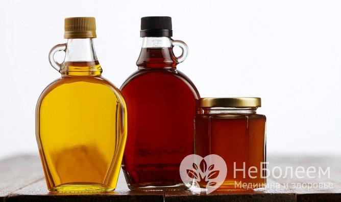 Продукти з тривалим терміном зберігання: натуральні сиропи