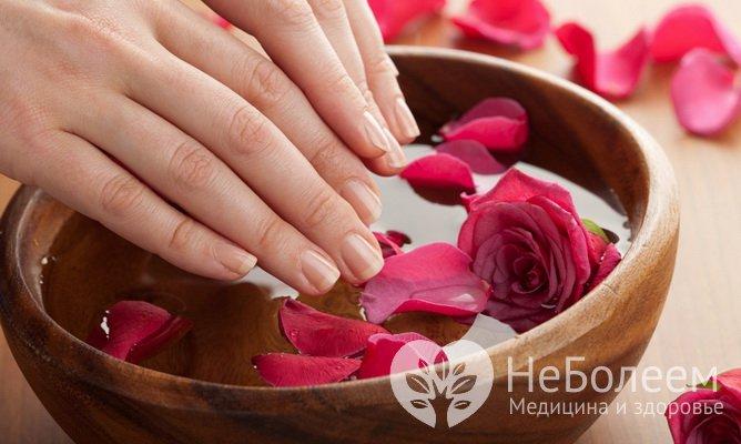 Етапи догляду за шкірою рук в домашніх умовах